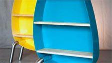 Mobilier design métallique