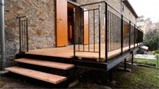 Terrasses métallique sur-mesure